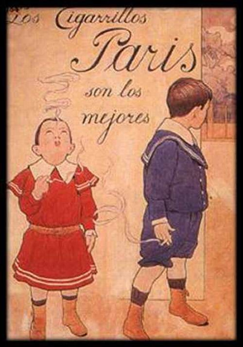 ретро-реклама цигарок