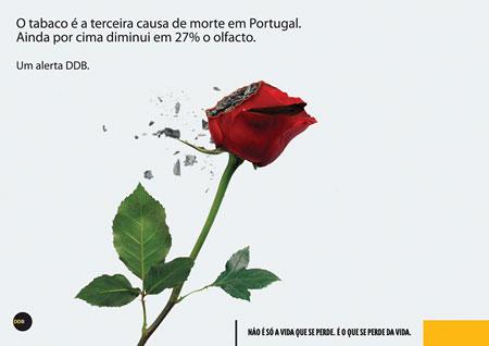 соціальна реклама проти куріння з португалії