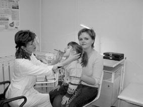при осмотре болеющих детей педиатр рискует заболеть сам