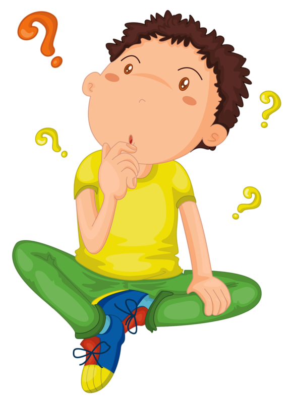 картинки ребенка со знаком вопроса
