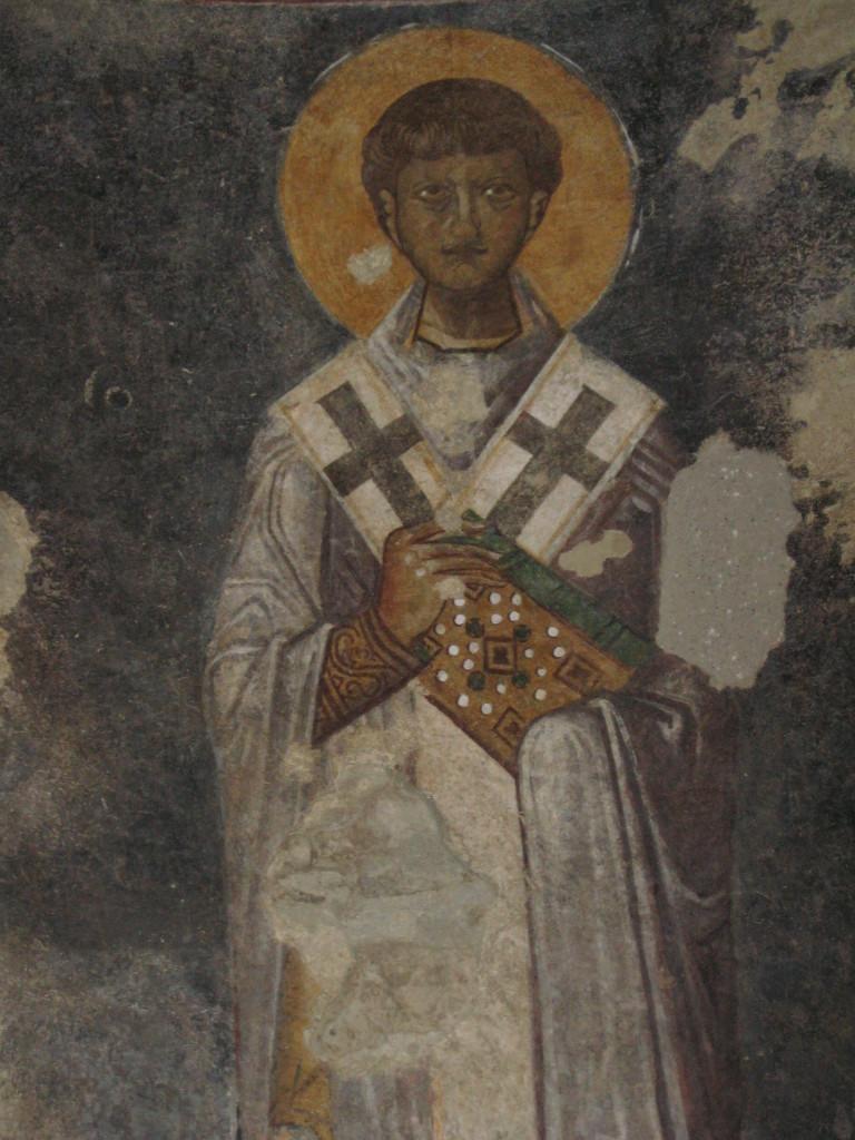 изображение на стене церкви