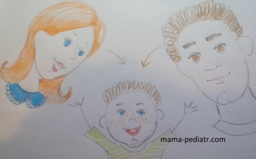 Діти - це несподіване поєднання батьківських рис