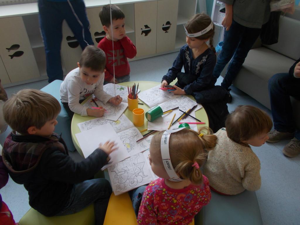 Игровая зона детской поликлиники