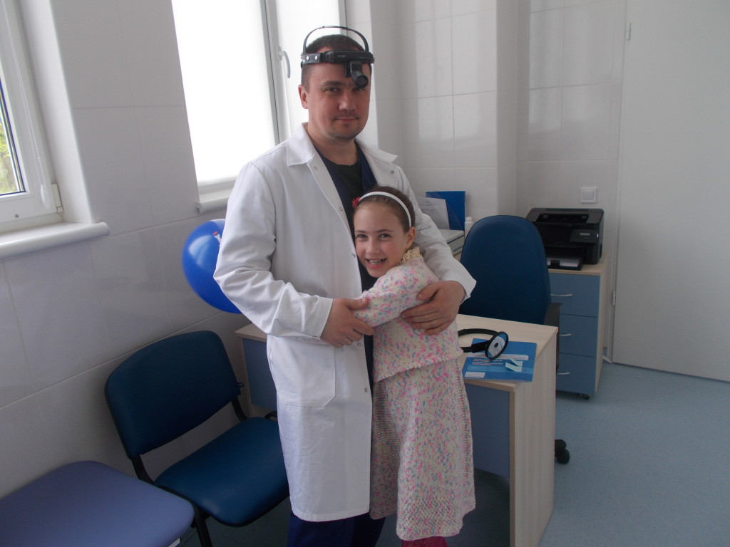 самый лучший доктор - папа