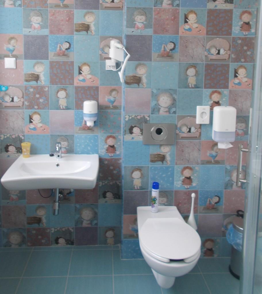 Ангелочки Гапчинской в детском туалете