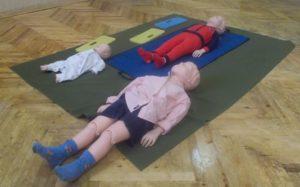 Это манекены, благодаря которым можно отработать навыки первый помощи детям