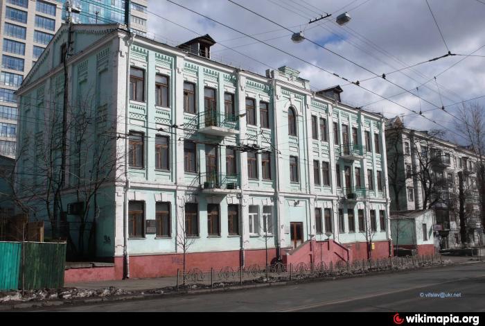Здание медучилища (сейчас - медицинский колледж) на Лукьяновке